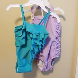 2 pack one piece swimsuits